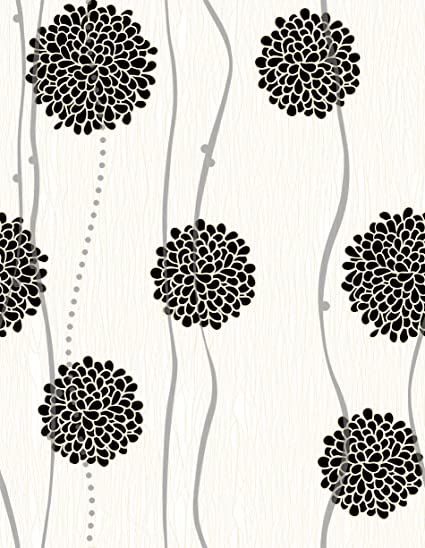 Black And White Peel And Stick Wallpaper Contact Paper Or Wall Paper Self Adhesive Wallpaper Easily Removable Wallpaper Black And White