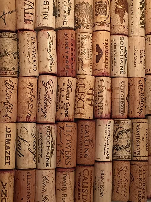 Wine Corks Natural Used 100 pieces