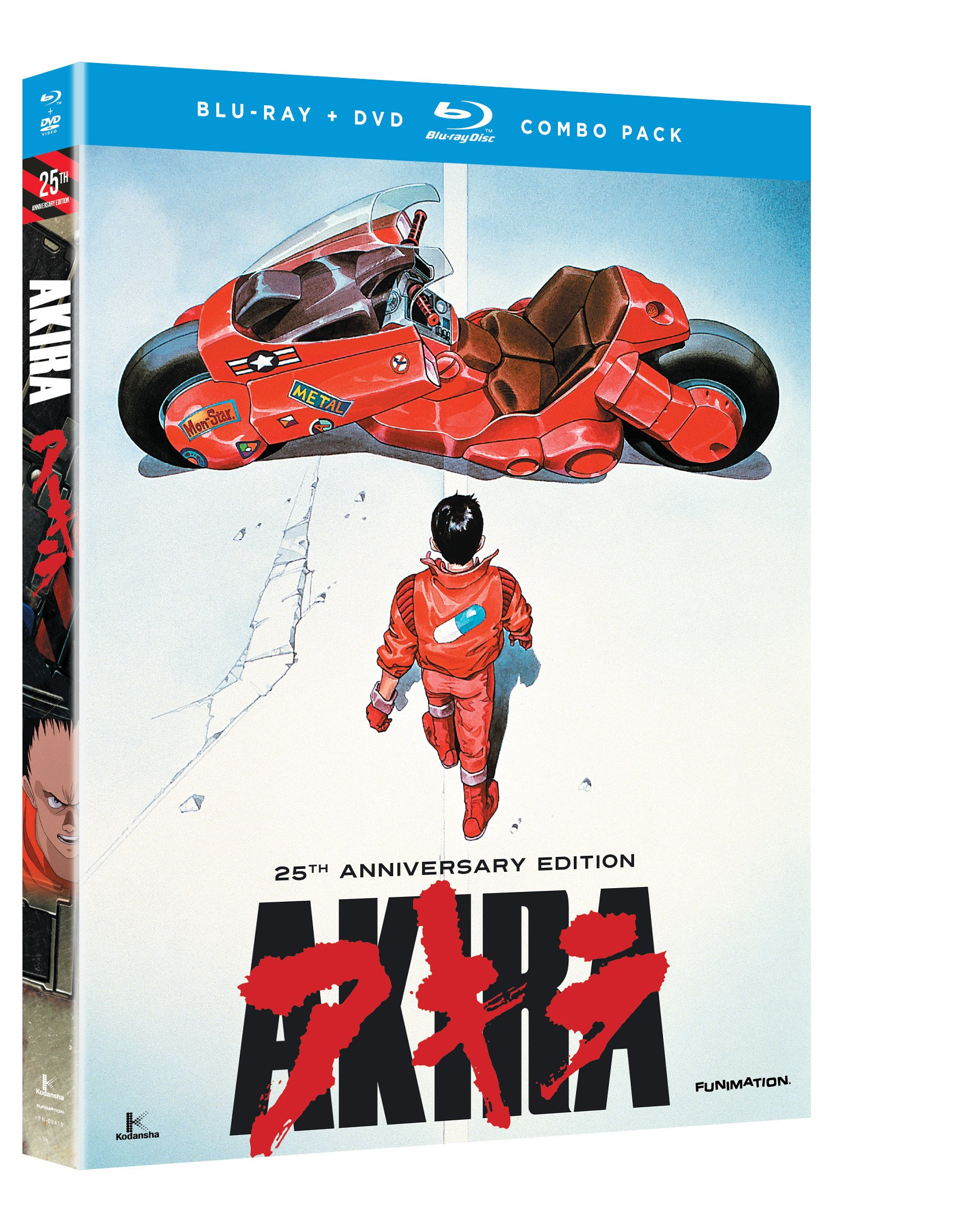 Blu-ray : Akira (With DVD, 2 Disc)