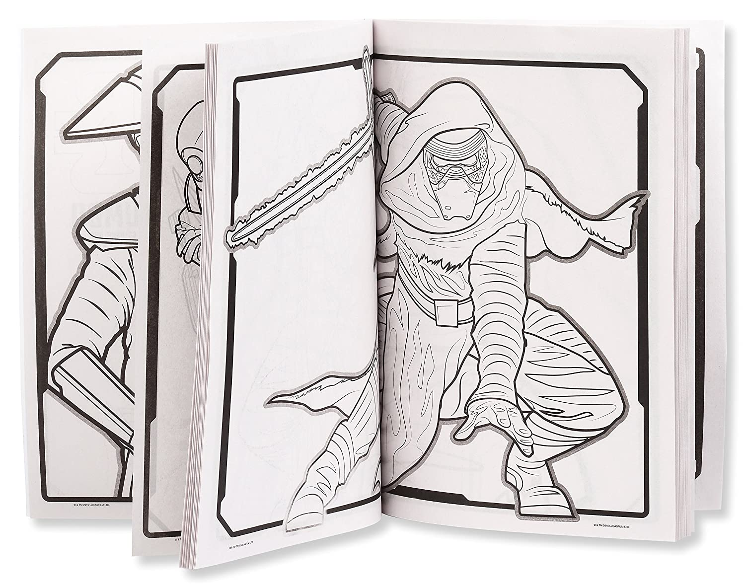 amazon com star wars the force awakens coloring book offer