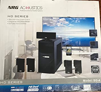 NRG Acoustics HD Series Professional Home Theater