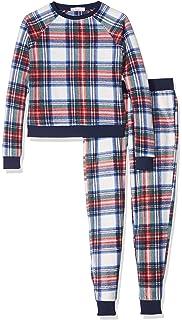 New Look Fleece Festive Check, Conjuntos de Pijama para Niñas