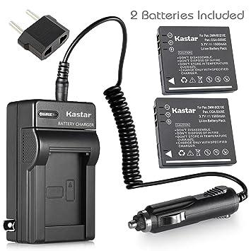 Amazon.com: Kastar Cargador, Batería para DMW-BCE10 – 1 DMW ...