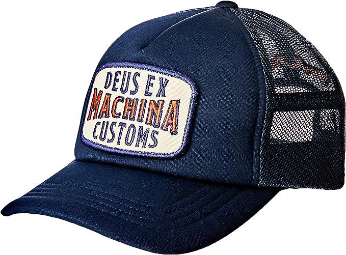 Deus Ex Machina Title - Gorra, Color Azul Marino Azul Marino Talla ...