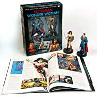 Superman and Wonder Woman Plus Collectibles