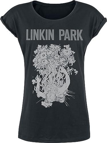 Linkin Park Eye Guts Maglia donna nero M