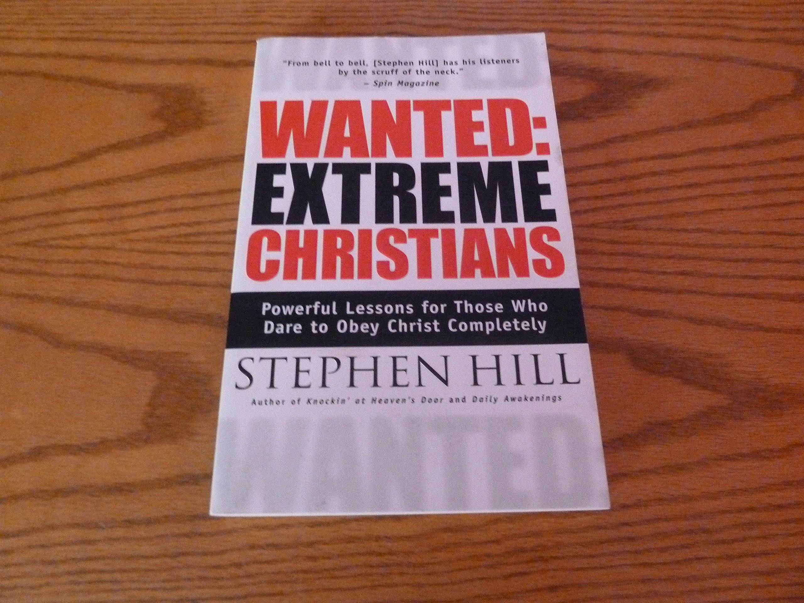 Download Wanted, Extreme Christians pdf epub