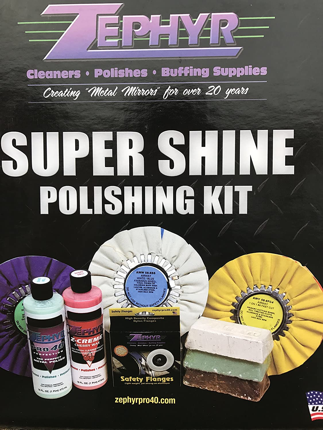 Zephyr Products SSKIT Super Shine Polishing Kit