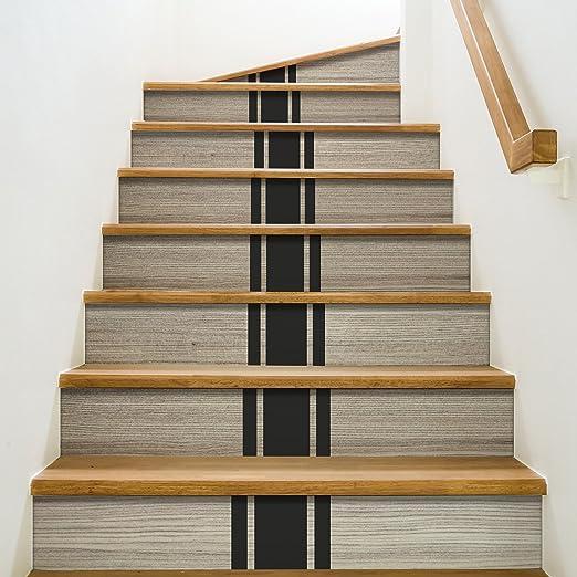 Playa Adhesivos para contremarches de escaleras, Vinilo, 100 x 0,1 x 19 cm: Amazon.es: Hogar