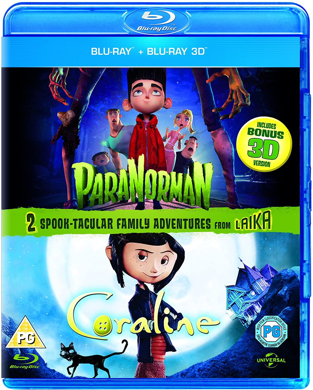 Amazon Com Paranorman Coraline Blu Ray 3d Blu Ray Movies Tv