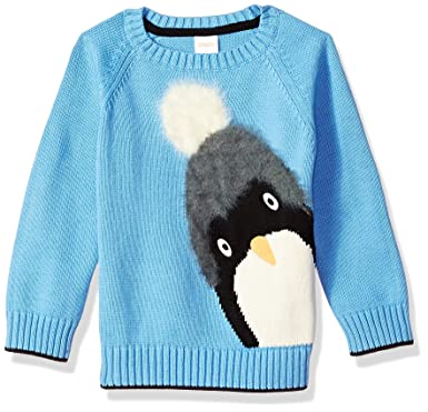 b53bdf40b Amazon.com  Gymboree Boys  Toddler Long Sleeve Crewneck Sweater ...