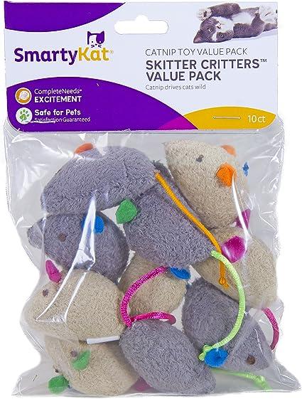 Amazon Com Smartykat Skitter Critters Catnip Cat Toys Value Pack