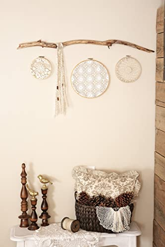 BOHO Inspired Driftwood Wall Decor   Dreamcatcher, Shabby Chic, Home Decor