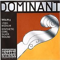 Thomastik corde per violino Dominant Nylonkern Sol argento