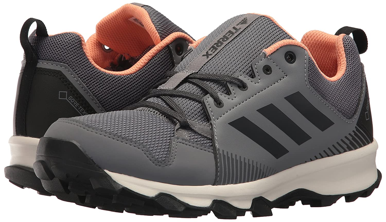 adidas outdoor Women's Terrex Tracerocker GTX B072YWSHSS W Trail Running Shoe B072YWSHSS GTX 8.5 B(M) US|Grey Three/Carbon/Chalk Coral 6212e6