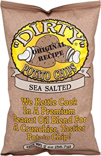 product image for Dirty Sea Salted Potato Chips, 2 Ounce -- 25 per case.