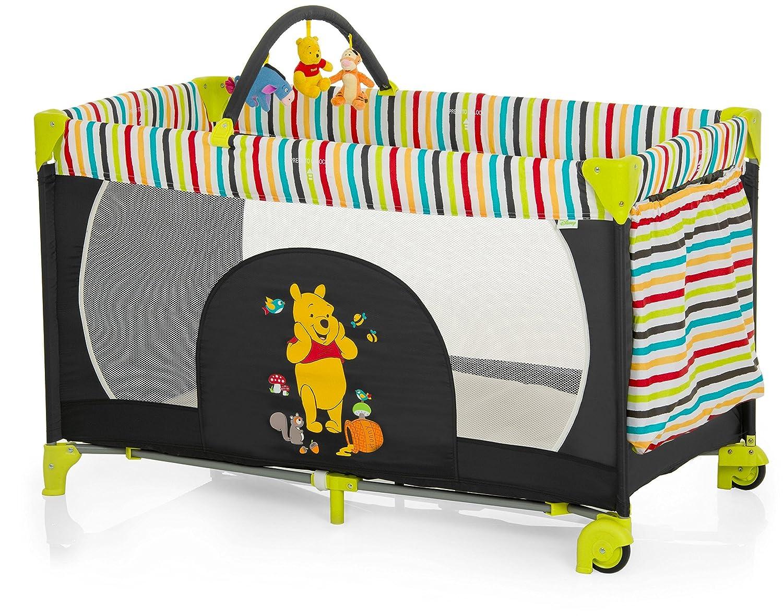 Reisepaket Hauck Kinderreisebett Dream N Play Go Disney schwarz-bunt und Julius Z/öllner Reisebettmatratze Travelsoft Premium 60 x 120 cm