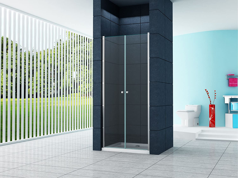 6 mm nischentr sany 95 x 195 cm nische duschtr duschkabine dusche duschwand amazonde baumarkt - Dusche Nischentur 85 Cm