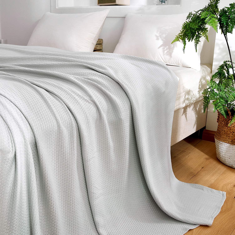 Bamboo Blanket for Summer Night Sweats