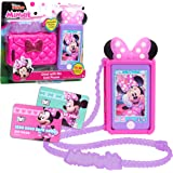 Minnie Mouse Disney Junior Chat with Me Cell Phone Set, Lights and Realistic Sounds, Includes Strap to Wear Like a Purse, by