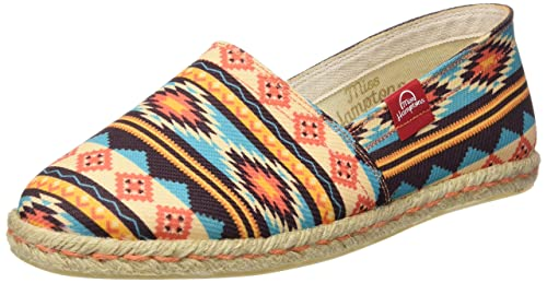 MISS HAMPTONS New Mexico, Espadrillas Basse Donna, Multicolore (Muticolor), 36 EU