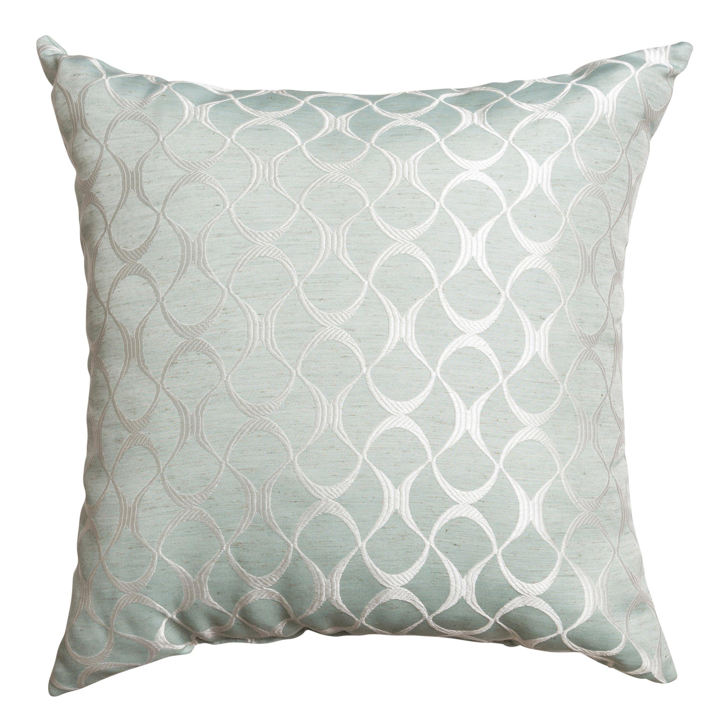 Softline Home Fashions 925HAL46818XPF Hechi Decorative Pillow, 18'', Spa