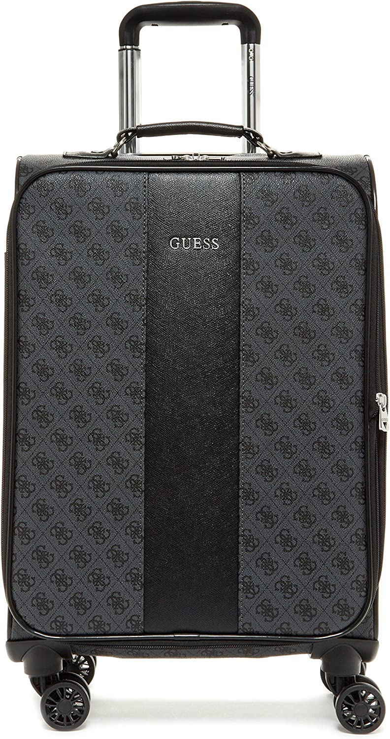 Guess Nissana 20 Spinner 8-Wheeler Charcoal with Silver Hardware