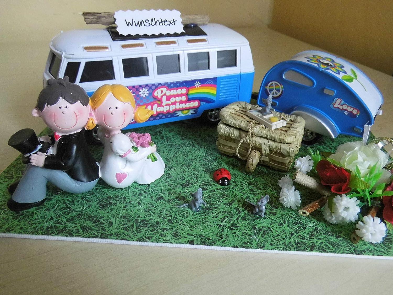 Geldgeschenk Geschenk Nostalgie Zur Hochzeit Wohnmobil