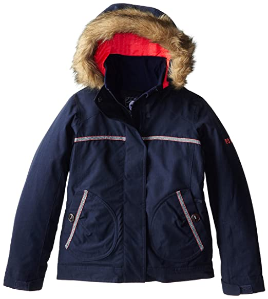 Amazon.com: Roxy Big Girls brumosa niña chamarra de nieve ...