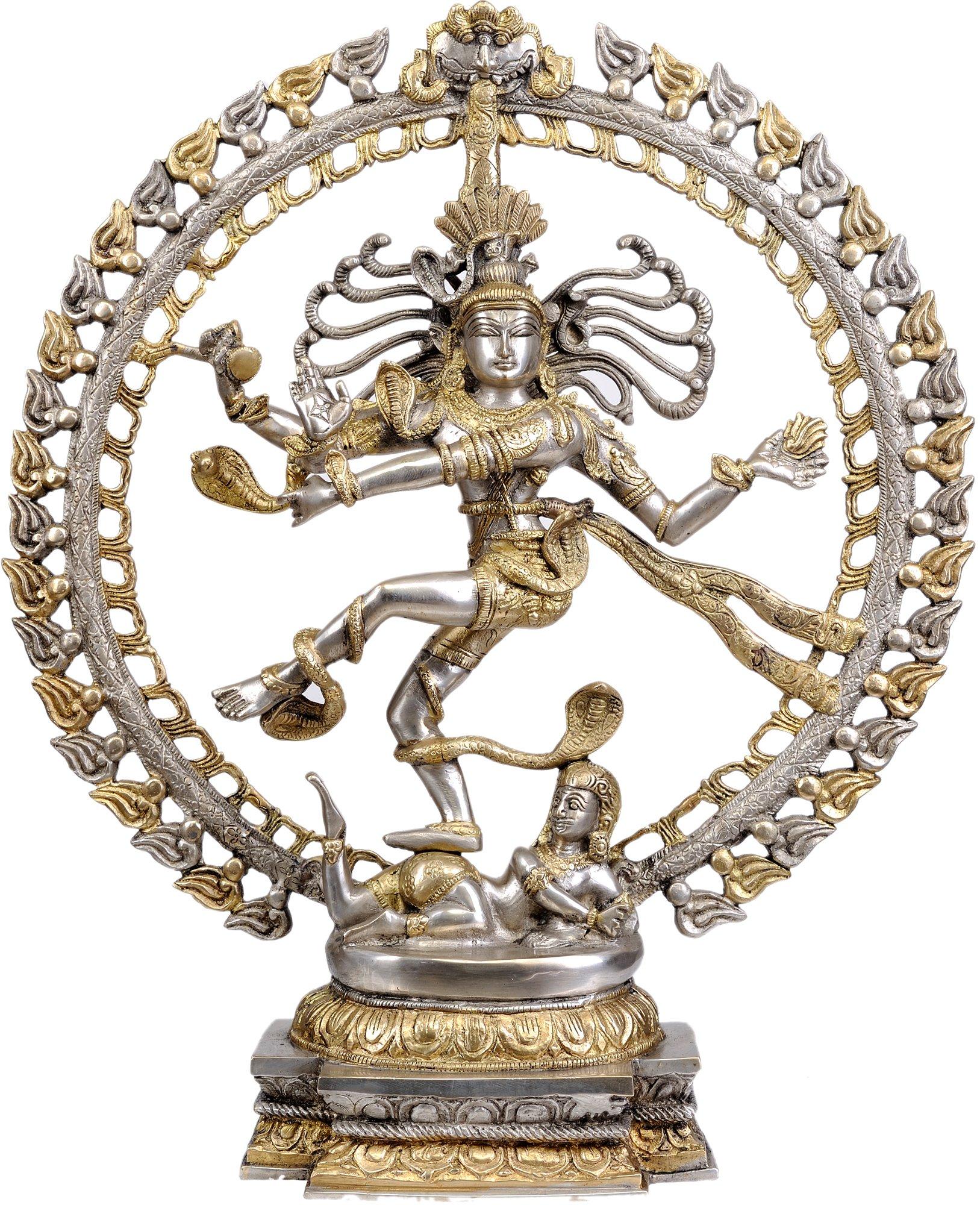 Lord Shiva as Nataraja - Brass Statue