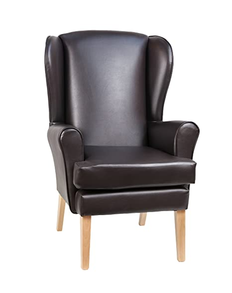 Morecombe Orthopedic High Seat Chair In Manhattan Brown 21u0026quot; ...