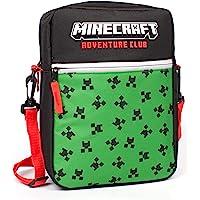 Minecraft Bag Kids Boys Creeper Face Game Crossbody Merchandise One Size