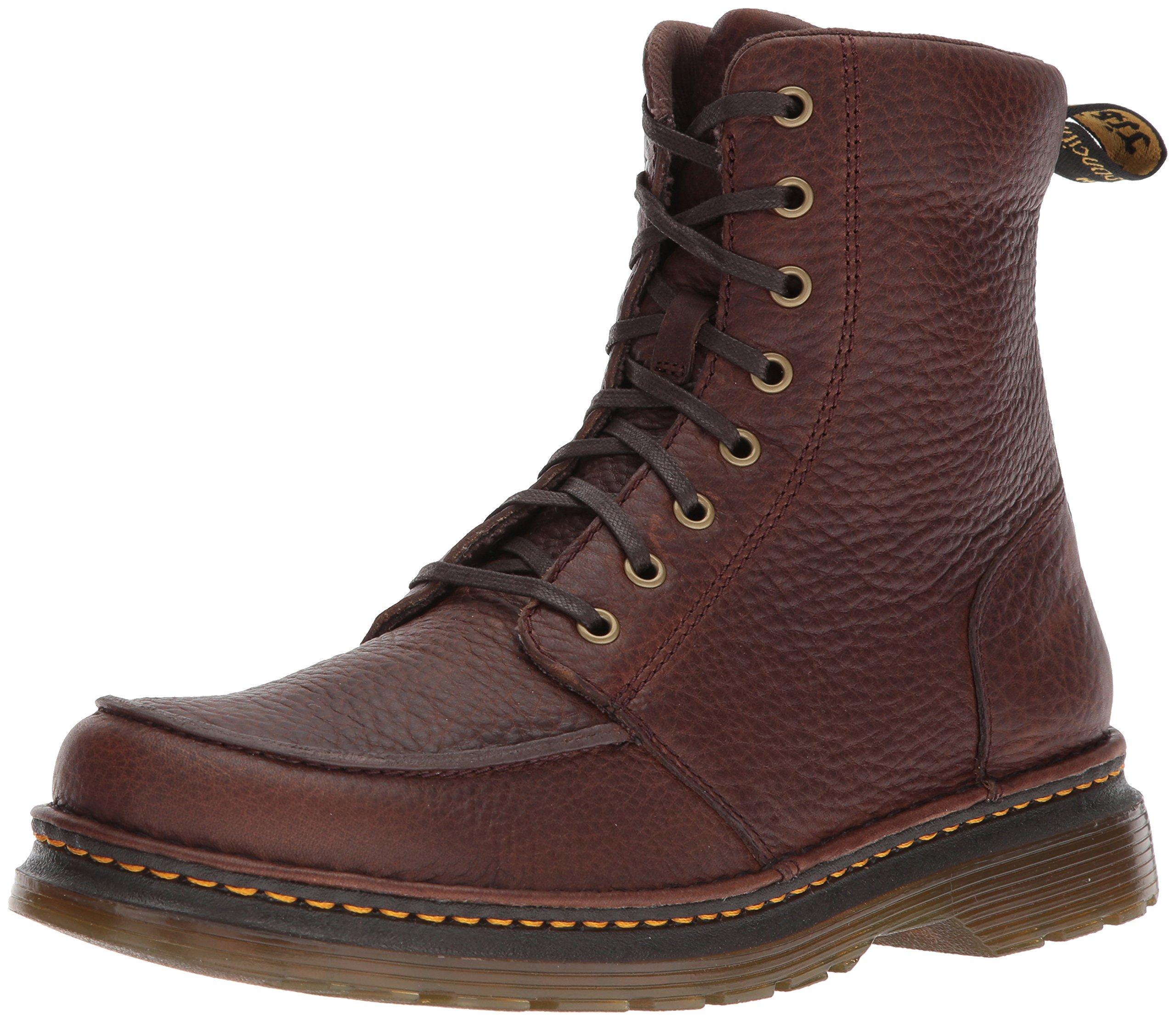 Dr. Martens Lombardo Dark Brown Fashion Boot, 9 Medium UK (10 US) by Dr. Martens