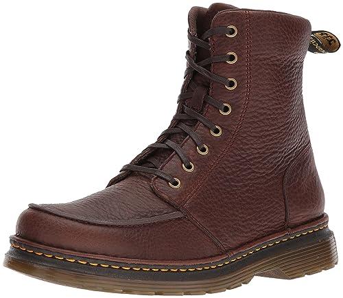 0219df431a8 Dr. Martens Lombardo marrón Oscuro Bota de Moda para Unisex Adulto ...