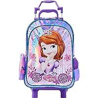 Mala Escolar G com Rodinhas, Dermiwil, Disney Princesa Sofia, 52171