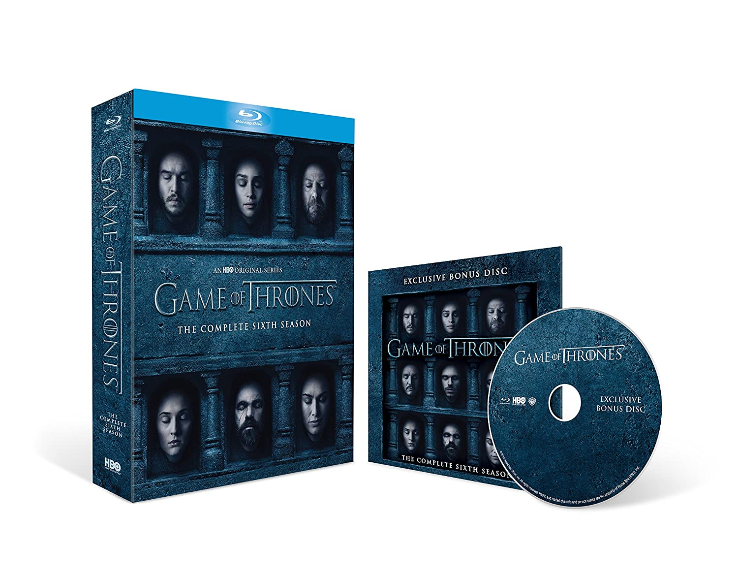 d64c2e088 Game of Thrones - Season 6 with Bonus Disc Exclusive to Amazon.co.uk  Blu-ray Region Free  Amazon.co.uk  Peter Dinklage