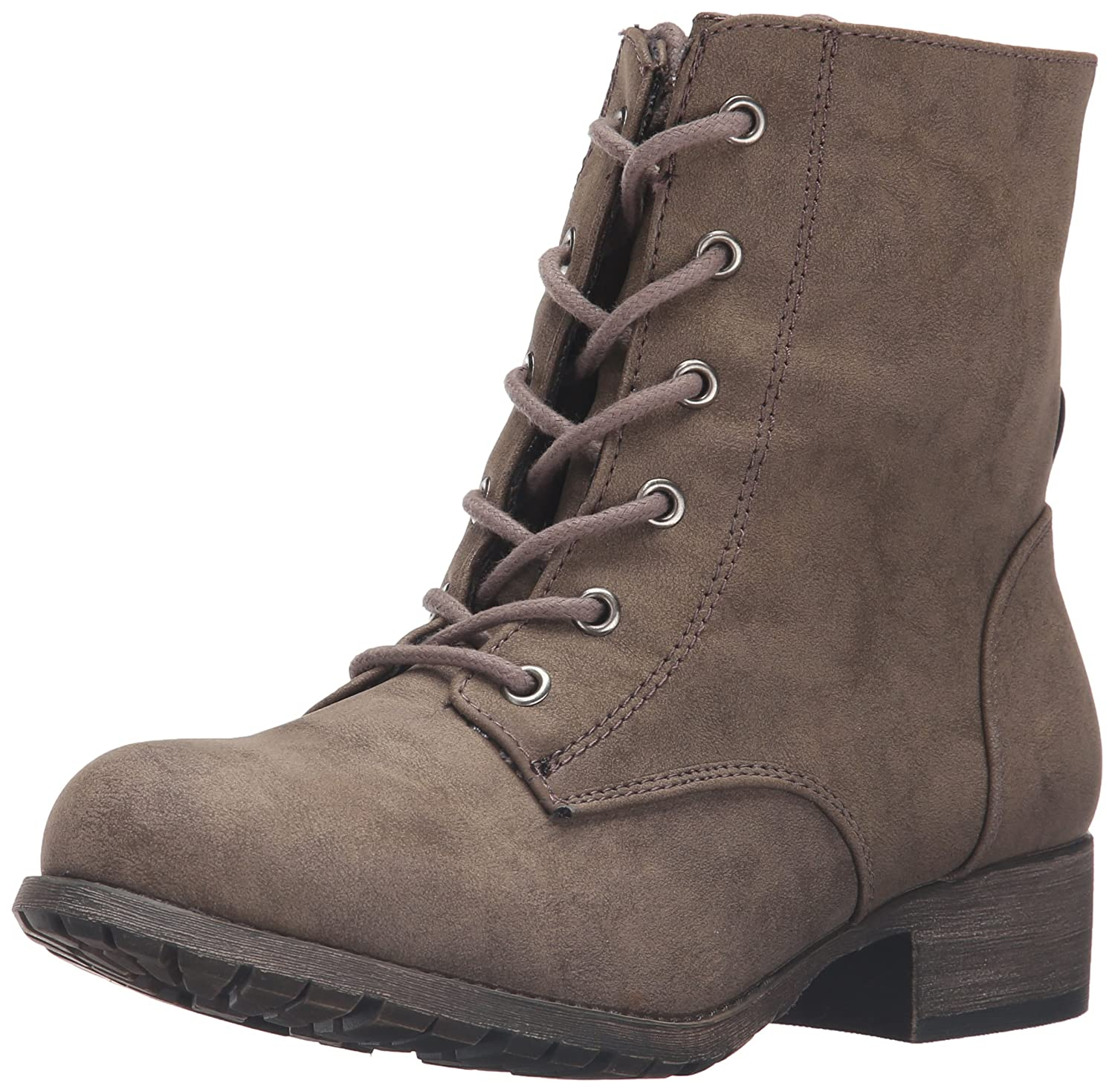 Jellypop Women's Freddy Engineer Boot B01CV9YTY0 8.5 B(M) US|Taupe Distress