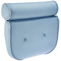 BodyHealt Home Spa Bath Pillow - Non Slip - Two Panel - Supportive Comfort For Neck And Back While In The Tub