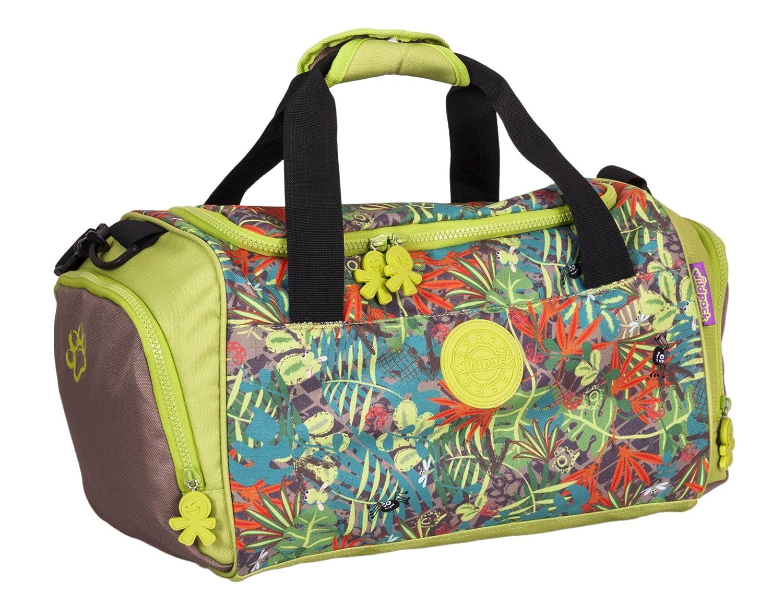 okiedog wildpack Jungle Fever 85021 Bolsa para Deporte con Compartimento para Zapatos ORQUÍDEA, Fucsia/Lila