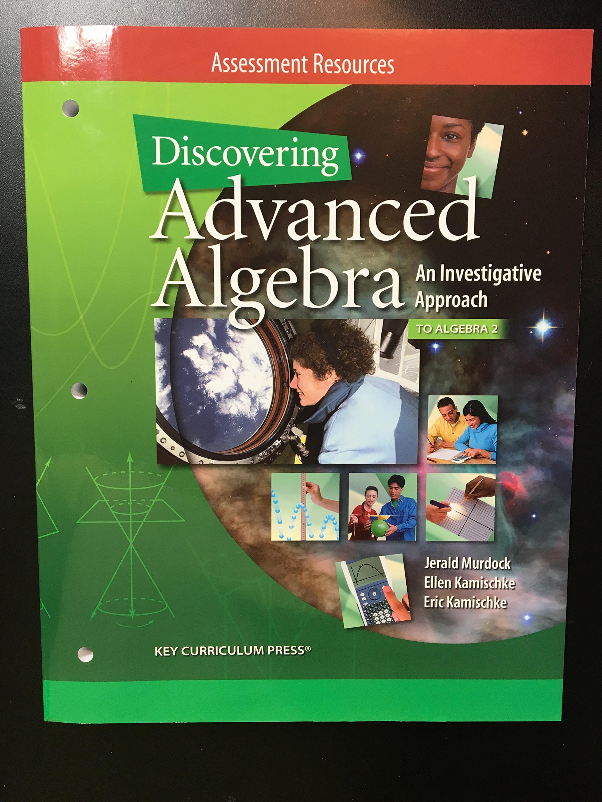 Discovering Advanced Algebra, An Investigative Approach, to Algebra 2 Assessment Resources ebook