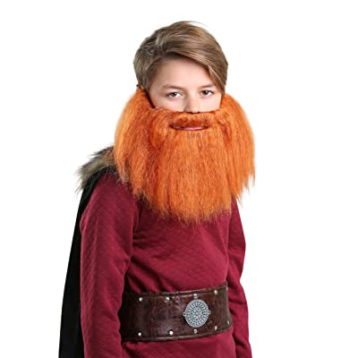 Child Red Viking Beard Standard: Clothing