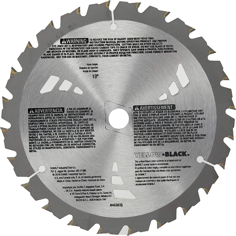 Amazon.com: DeWalt Framing Blade 7 – 1/4