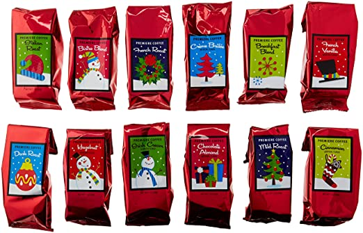 12 Coffees of Christmas Gift Set