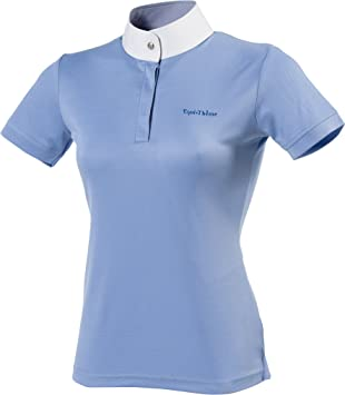 Equi-Theme Equit m Women s 987006640 Mesh Short Sleeve Polo Shirt ... fef101927