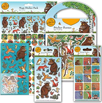 Paper Projects 01.70.24.041 The Gruffalo Super Sticker Pack: Amazon.es: Juguetes y juegos