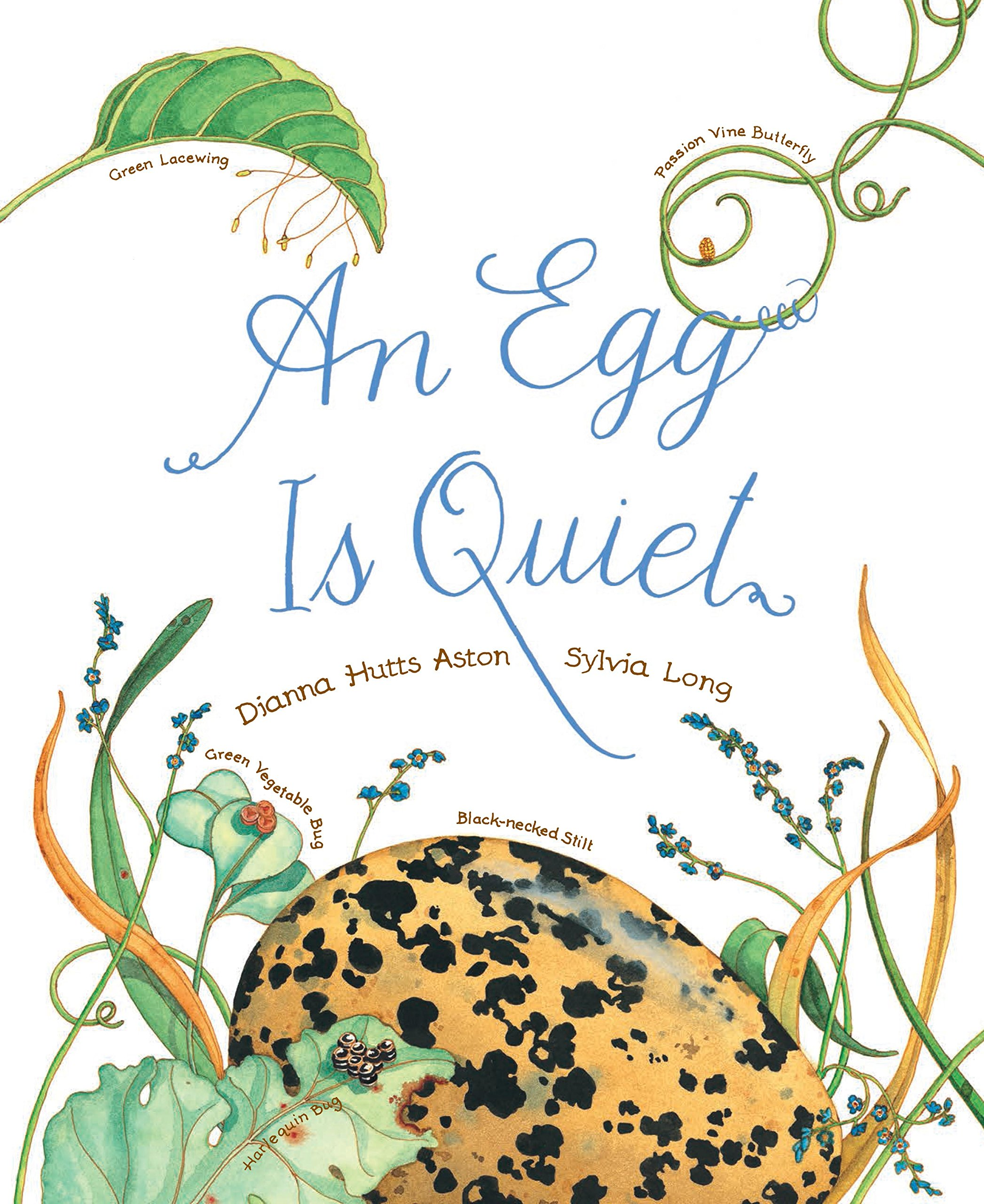 An Egg Is Quiet: (Picture Book, Kids Book about Eggs) (Nature Books):  Aston, Dianna Hutts, Long, Sylvia: 9781452131481: Amazon.com: Books