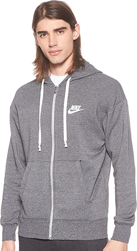 Nike Men's Sportswear Heritage Fleece Full zip Hoodie