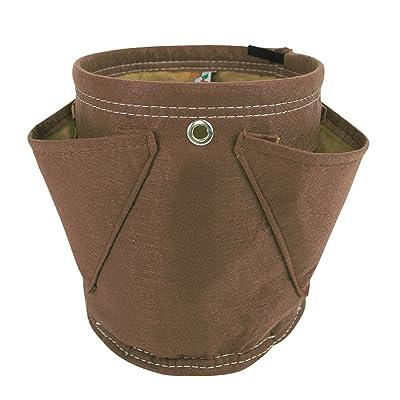 BloemBagz Mini Herb Hanging Planter Grow Bag, 1.5 Gallon, Chocolate (MHP-45) : Garden & Outdoor
