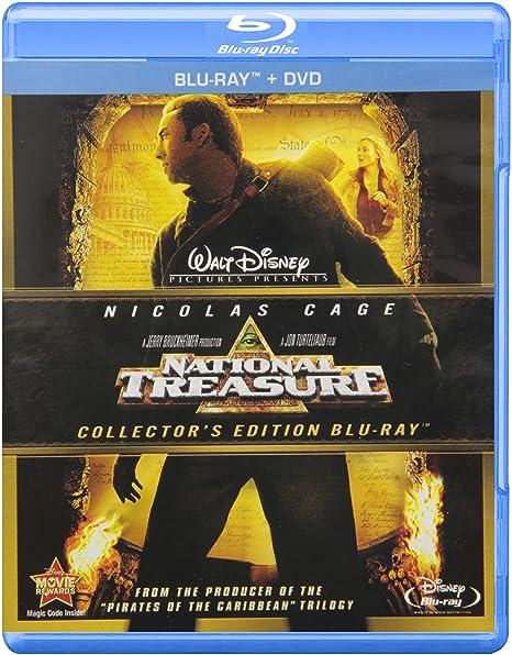 Amazon.com: National Treasure [Blu-ray + DVD]: Nicolas Cage, Jon Voight, Harvey Keitel, Diane Kruger, Sean Bean, Justin Bartha, Christopher Plummer, ...