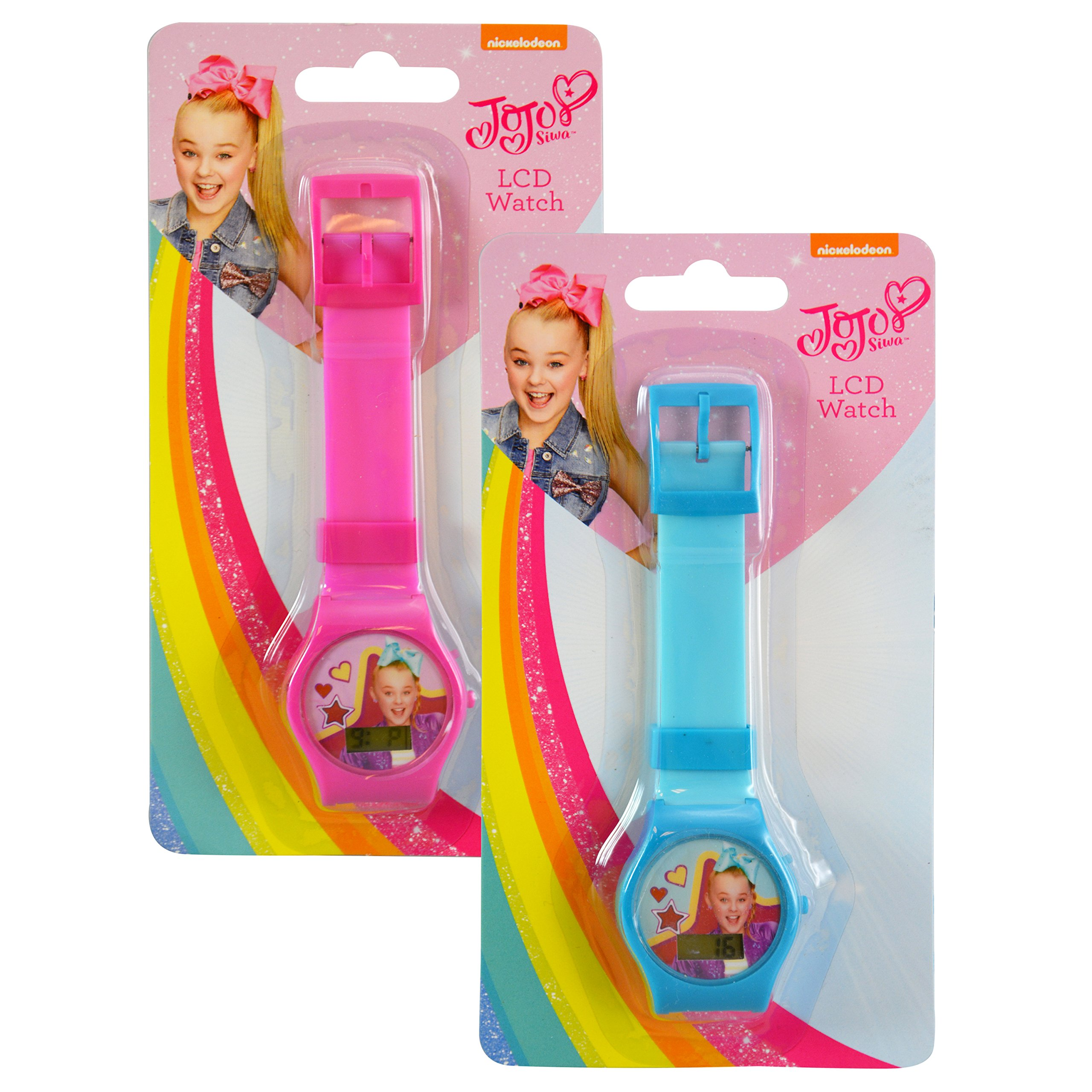 JoJo Siwa Travel Fun Set, Digital Watch and 2pk Kids Toothbrush with Travel Sling Bag by JoJo Siwa (Image #3)